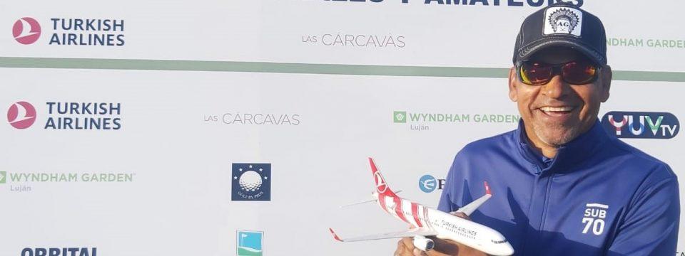 Rafa Gómez voló alto en La Colina