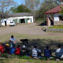 Acción solidaria del Tour en Villa Allende